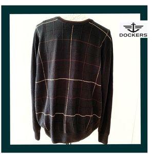 Dockers men's Brown sweater